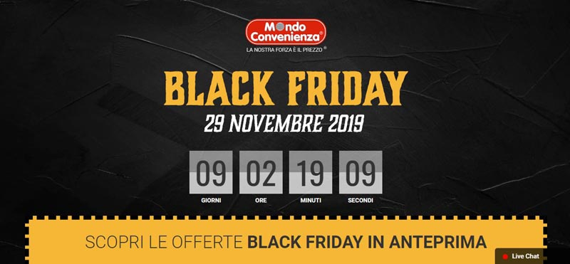 mondo-convenienza-black-friday-2019